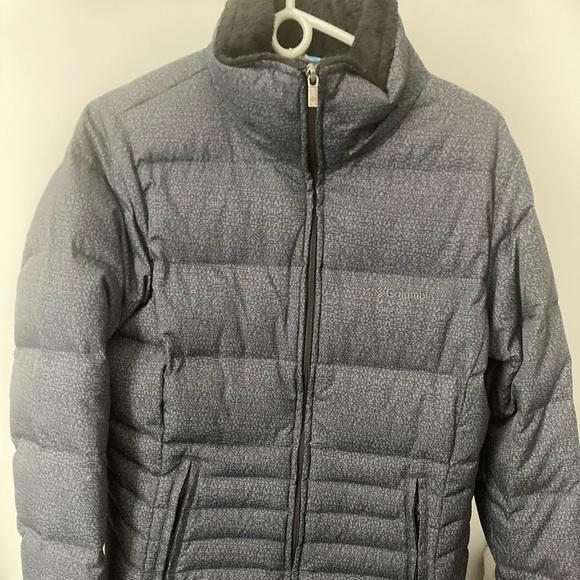 Long Grey Columbia winter parka